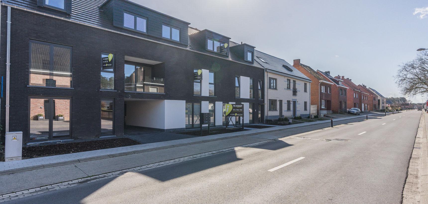 Nieuwbouwproject met 8 appartementen met 2 of 3 slpks te OLV Olen !