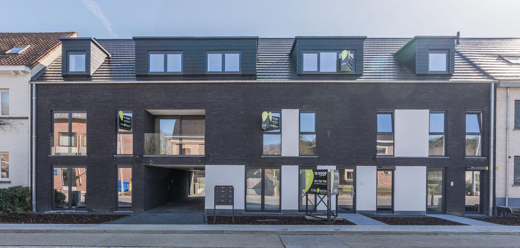 Instapklaar nieuwbouw appartement met 3 slpks op de 1ste verdieping (met lift) !