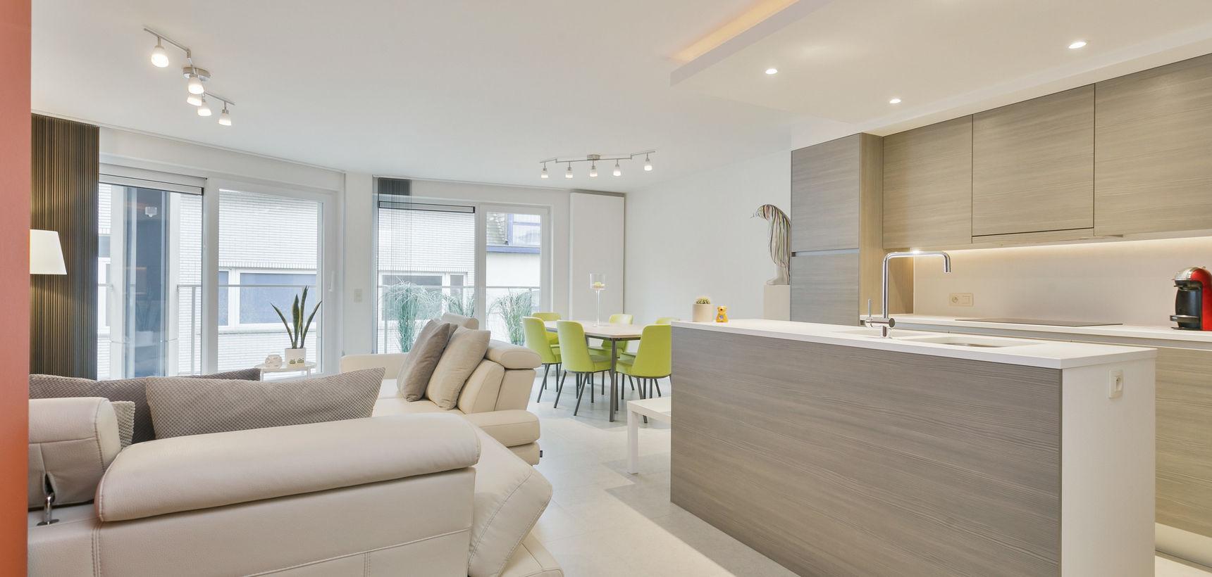 Perfect onderhouden ruim appartement op een mooie ligging in het centrum!