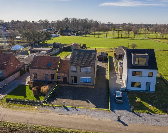 Landelijk gelegen woning op een mooi perceel van 1.080 m²