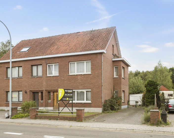Te renoveren woning met mooie tuin op een perceel van 1.180 m² te OLV Olen !